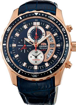 цена Orient Часы Orient TT0Q006D. Коллекция CHRONOGRAPH онлайн в 2017 году