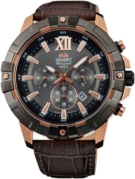 цена Orient Часы Orient TW03005A. Коллекция CHRONOGRAPH онлайн в 2017 году