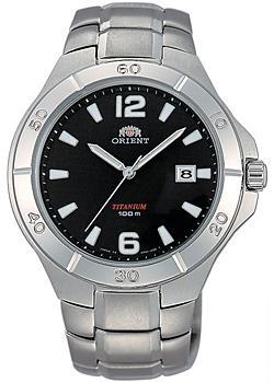 Orient Часы Orient UN81001B. Коллекция Titanium