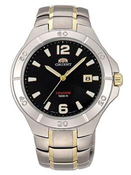 цена Orient Часы Orient UN81002B. Коллекция Titanium