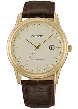 Orient Часы Orient UNA0002C. Коллекция Basic Quartz orient часы orient una0008w коллекция basic quartz