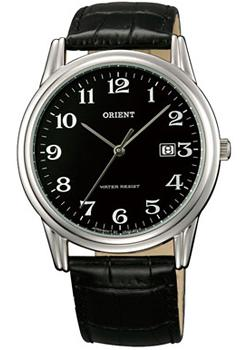 Orient Часы Orient UNA0007B. Коллекция Basic Quartz orient часы orient una9001w коллекция basic quartz