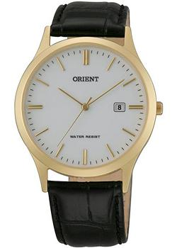 Orient Часы Orient UNA1001W. Коллекция Basic Quartz orient часы orient una1002b коллекция basic quartz