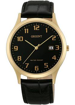 Orient Часы Orient UNA1002B. Коллекция Basic Quartz orient qc0h003b orient