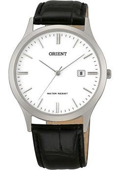 Orient Часы Orient UNA1003W. Коллекция Basic Quartz chenxi watch men brand brown leather sport quartz watches fashion steel quartz clock life waterproof male wristwatch natate