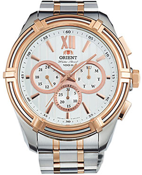 Orient Часы Orient UZ01001W. Коллекция Sporty Quartz часы orient set0h001b0 2b0 3b0