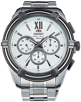 Orient Часы Orient UZ01003W. Коллекция Sporty Quartz orient часы orient sw06007w коллекция sporty quartz