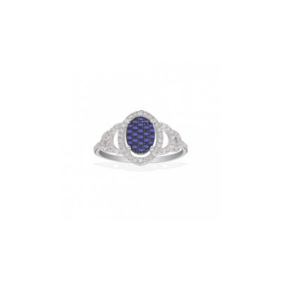 Золотое кольцо Ювелирное изделие Q14060SVB кольцо алмаз холдинг женское золотое кольцо с бриллиантами и рубином alm13237661 19