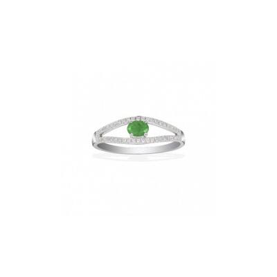 Золотое кольцо Ювелирное изделие Q14104EVB кольцо алмаз холдинг женское золотое кольцо с бриллиантами и рубином alm13237661 19