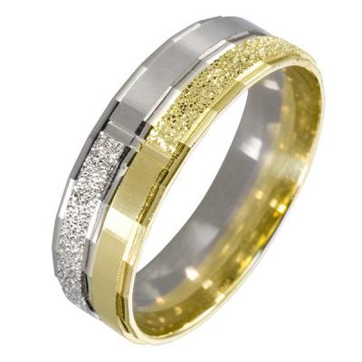 Ювелирное изделие 511429 жёсткий браслет из золота с алмазной гранью