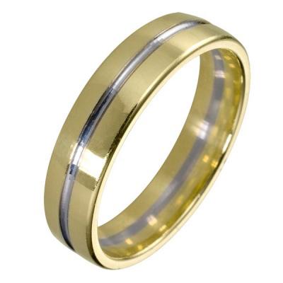 Ювелирное изделие 511878 жёсткий браслет из золота с алмазной гранью