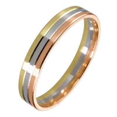 Ювелирное изделие 511903-1 жёсткий браслет из золота с алмазной гранью