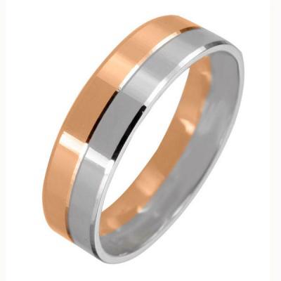 Ювелирное изделие 511915 обручальное кольцо эстет золотое обручальное кольцо с бриллиантами est01о620227b3 19 5