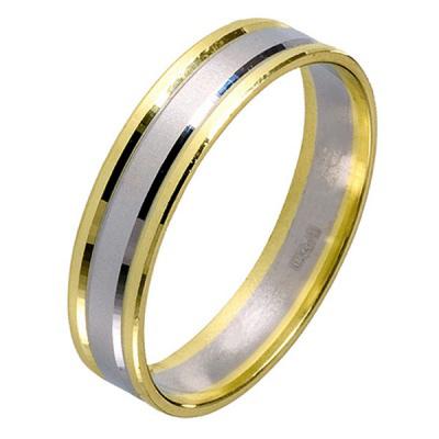 Ювелирное изделие 511992 жёсткий браслет из золота с алмазной гранью
