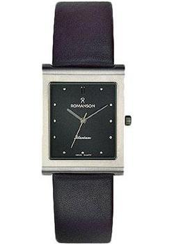 Romanson Часы Romanson DL0581SMW(BK). Коллекция Titanium romanson часы romanson dl9782smw bk коллекция titanium