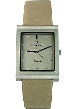 Romanson Часы Romanson DL0581SMW(GR). Коллекция Titanium romanson tl 4227 mw gr