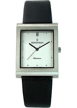 Romanson Часы Romanson DL0581SMW(WH). Коллекция Titanium romanson tl 8250b mj wh