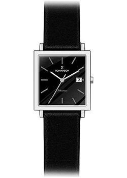 Romanson Часы Romanson DL2133SMW(BK). Коллекция Modish наручные часы romanson dl2133smw bk