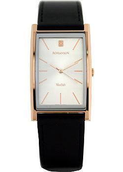 Romanson Часы Romanson DL2158CMR(WH). Коллекция Titanium romanson часы romanson dl0581hmw wh коллекция titanium