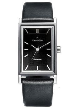Romanson Часы Romanson DL4191SMW(BK). Коллекция Titanium
