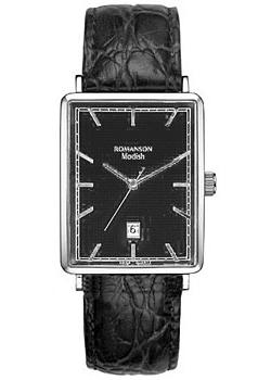 Romanson Часы Romanson DL5163SMW(BK). Коллекция Modish romanson tm 2615 mr bk