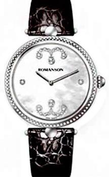 Romanson Часы Romanson RL0363LW(WH). Коллекция Giselle romanson romanson em 5164 lw wh