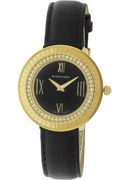 Romanson Часы Romanson RL0385TLG(BK). Коллекция Lady Jewelry romanson tm 5a20 mw bk