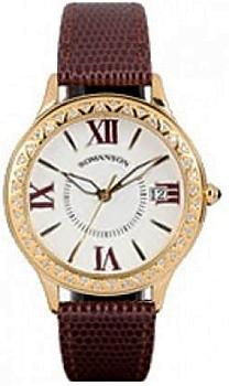 Romanson Часы Romanson RL1222QLG(WH)BN. Коллекция Lady Jewelry