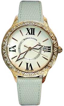 Romanson Часы Romanson RL1222QLR(WH)WH. Коллекция Lady Jewelry