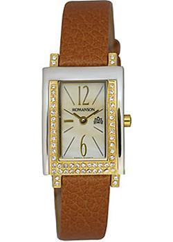 Romanson Часы Romanson RL6159QLC(GD). Коллекция Giselle romanson часы romanson rm2140qlg gd коллекция lady dressy