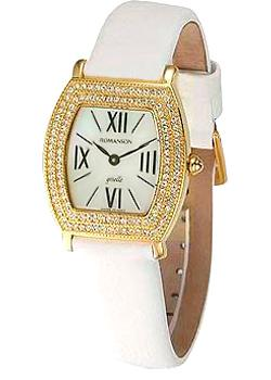 Romanson Часы Romanson RL8209QLG(WH). Коллекция Lady Jewelry romanson tl 9214 mj wh