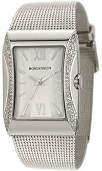 Romanson Часы Romanson RM0358QLW(WH). Коллекция Lady Jewelry