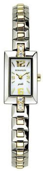 Romanson Часы Romanson RM5113QLC(WH). Коллекция Giselle romanson rm 7a30q lg wh