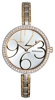 Romanson Часы Romanson RM7283QLJ(WH). Коллекция Lady Jewelry