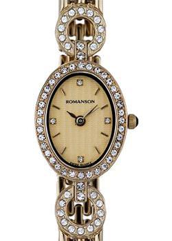 Romanson Часы Romanson RM9790QLG(GD). Коллекция Giselle romanson dl 5163s mw gd