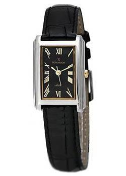 Romanson Часы Romanson TL0110SLW(BK). Коллекция Adel цена и фото
