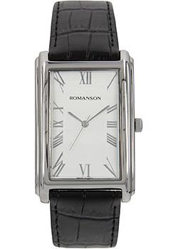 Romanson Часы Romanson TL0110SXW(WH). Коллекция Adel romanson rl1254lj wh romanson