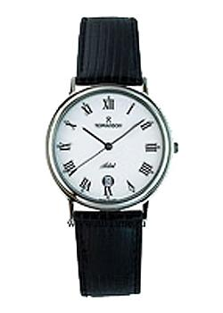 Romanson Часы Romanson TL0162SMW(BK). Коллекция Leather romanson tm 2615 mr bk