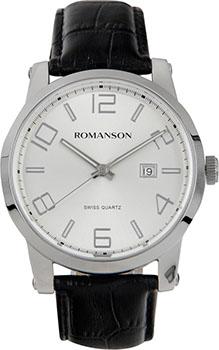 Romanson Часы Romanson TL0334MW(WH). Коллекция Gents Fashion romanson romanson hl 6108q mw wh
