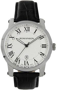 Romanson Часы Romanson TL0334MW(WH)RIM. Коллекция Gents Fashion romanson romanson hl 6108q mw wh
