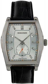 Romanson Часы Romanson TL0336MW(WH). Коллекция Gents Fashion romanson romanson hl 6108q mw wh