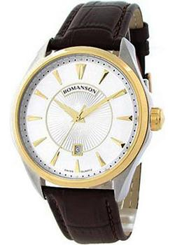 Romanson Часы Romanson TL0337MC(WH). Коллекция Gents Fashion romanson tl 0337 lj wh