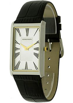 Romanson Часы Romanson TL0390MC(WH). Коллекция Gents Fashion цена и фото