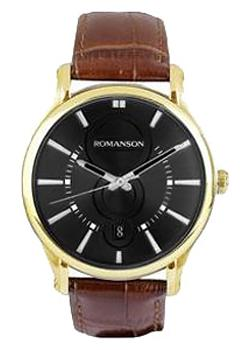 Romanson Часы Romanson TL0392MG(BK). Коллекция Gents Fashion romanson часы romanson tm7237mw bk коллекция gents fashion