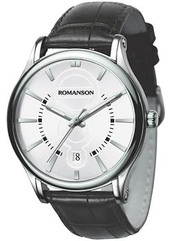 Romanson Часы Romanson TL0392MW(WH). Коллекция Gents Fashion romanson часы romanson tm7237mw bk коллекция gents fashion