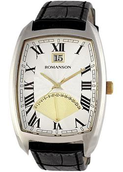 Romanson Часы Romanson TL0394MC(WH). Коллекция Gents Fashion romanson tl 0329b mc wh