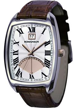 Romanson Часы Romanson TL0394MJ(WH). Коллекция Gents Fashion romanson rm 6a31l lw wh
