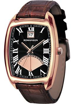 Romanson Часы Romanson TL0394MR(BK). Коллекция Gents Fashion romanson часы romanson tm7237mw bk коллекция gents fashion