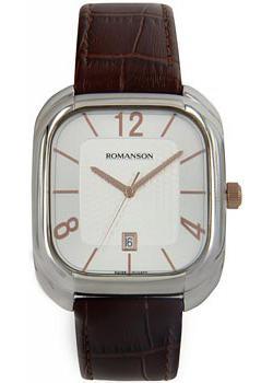 Romanson Часы Romanson TL1257MJ(WH). Коллекция Adel romanson часы romanson tm7266mj wh коллекция adel