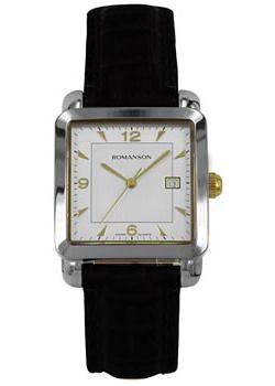 Romanson Часы Romanson TL1579DMC(WH). Коллекция Adel romanson часы romanson tm7266mj wh коллекция adel